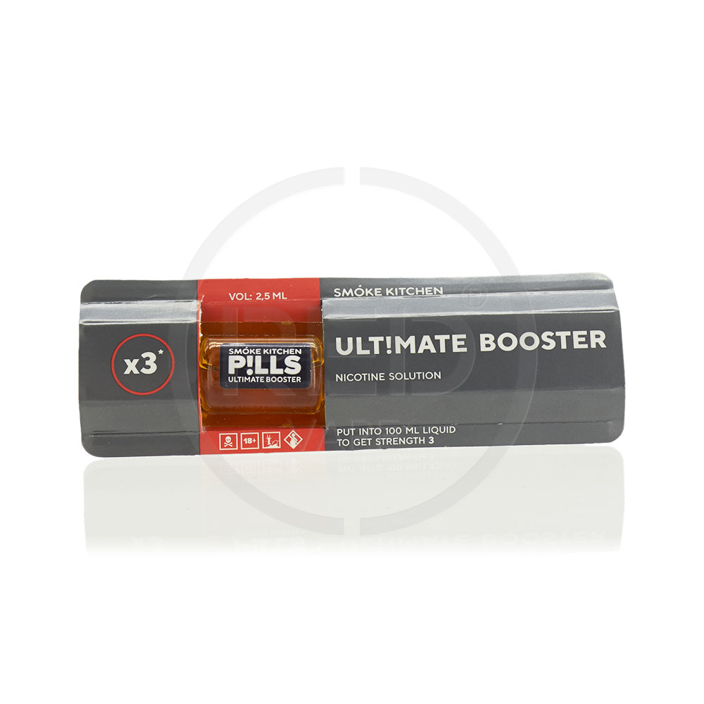 Никобустер SMOKE KITCHEN PILLS ULTIMATE BOOSTER | REDVAPE.RU